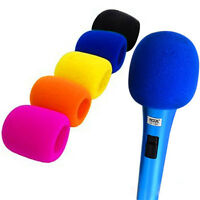 Colorful Handheld Multi-Color Stage Microphone Windscreen Foam Mic Cover