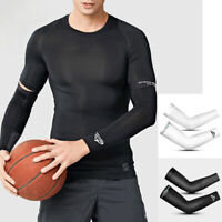 Summer Cycling Cooling Arm Sleeves UV Sun Protection Cover For Men Women