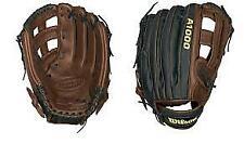 "New Other Wilson A1000 A1000BB0W5DB 11.75"" Baseball Outfield Glove Brn/Blk RHT"