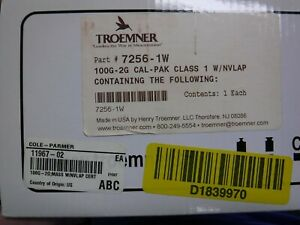 TROEMNER 7253-1W Calibration Weight Set,Metric,50 to 2g
