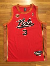 Authentic Reebok Syracuse National NATS 76ers Sixers HWC Allen Iverson Jersey 52