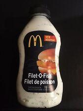 McDonald's Filet-O-Fish - Filet de Poisson Tartar Sauce 355 ml Bottle New Sealed