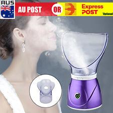 Facial SPA Pores Steam Skin Sauna Beauty Face Mist Thermal Steamer Clean D