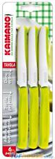 Coltelli tavola kaimano 415 6pezzi verde acido fis ______________
