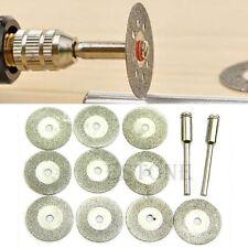Rotary Tool Circular Saw Blades Cutting Discs Mandrel Cutoff 20mm 10pcs