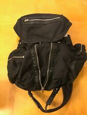 """Alexander Wang """"Marti Backpack in Washed Black with Rhodium"""""""