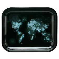MOCO Metal Tobacco Cigarette Rolling Tray - Large Size 13.5'' x 11''