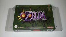 The Legend of Zelda Majora's Mask - PAL  - Nintendo 64 - N64 - Only Box