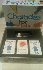 Charades for kids new sealed vintage board game