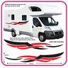Motorhome Vinyl Graphics Stickers Decals Camper Van RV Caravan Horsebox mh4c