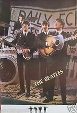 "BEATLES ""GROUP PLAYING IN FRONT OF LARGE CAMERA"" POSTER FROM ASIA - Classic Rock"