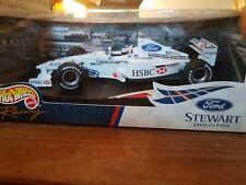 Metal Hot Wheels Formula 1 Ford Stewart Grand Prix SF3