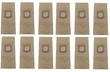 12 Brown Paper Bags for Kirby Vacuum Cleaner Heritage Ii Legend Ii 197389 197289