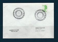 FRd enveloppe  Rotary  international cinquantenaire 24 Bergerac   1986