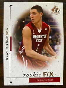 2011-12 SP Authentic Rookie F/X KLAY THOMPSON Rookie #90, Warriors RC
