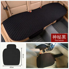 1 Set Comfortable Durable Car Seat Cover Cushion Mat Pad Black Artificial Linen