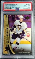 2005-06 Upper Deck Stars in the Making Sidney Crosby PSA 10 Low Population RC