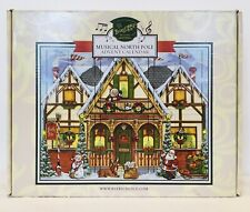 Byers Choice Traditions Musical Advent Calendar North Pole Sants's House Read