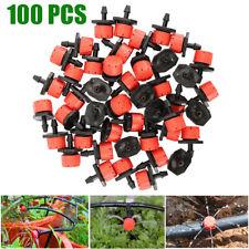 100x Micro Garden Lawn Water Spray Misting Nozzle Sprinkler Irrigation Drip Head
