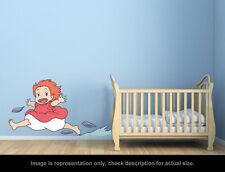 Ghibli Ponyo - Ponyo Smile Wall Art Applique Stickers