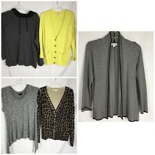 Lot 5 Womens XL Tops Sweaters Includes Kim Rogers  Mossimo Merona Catalina