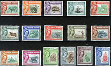 NORTH BORNEO 1961 DEFINITIVES SG391/406 MNH