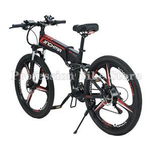 Jinghma r3b 800w 48v 12.8ah adult electric bike 26 Inch wheel 21 speed folding