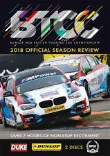 BTCC British Touring Car Championship - Official Review 2018 (2 DVD set) New