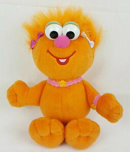 """Sesame Street Zoe 12"""" Plush Orange Girl Monster Doll Stuffed Toy"""