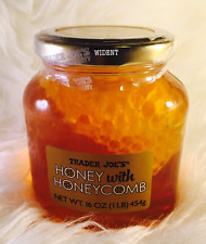 Trader's Joe Honey with Honeycomb 16 oz (PACK OF 2)