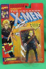 The Uncanny X-Men Longshot Knife Throwing Action Figure Toy Biz 1993 New on Card