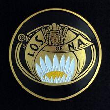 Masonic Ladies Oriental Shrine Car Auto Emblem (OSA-1)