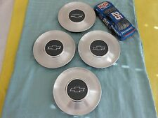 Sets of 4  Chevy Impala Monte Carlo Silver OEM Wheel Center Cap # 9592876