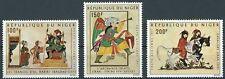 Niger - Islamische Miniaturmalerei Satz postfrisch 1971 Mi. 306-308