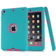 For iPad 234 mini 1234 Air Pro Shockproof Armor Military Heavy Duty Case Cover