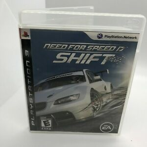 Need for Speed: Shift Sony PlayStation 3 2009 Used PS3 Fun Racing Free USA Ship