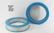 Wesfil Air Filter WA052 fits Holden Gemini 1.6 (TC,TD,TX), 1.6 (TD), 1.6 (TE,...