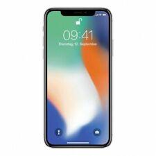 Téléphones mobiles argentés Apple iPhone X, 256 Go