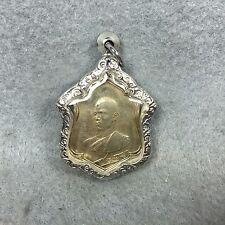 Thai amulet King Rama 10 Vajiralongkorn V. Ordain His majesty Coin B.E.2521
