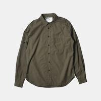 MHL Margaret Howell - Garment Dye Poplin Work Shirt - Size Large / RRP £115