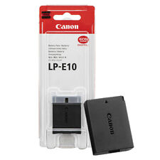 Canon LP-E10 Lithium-Ion Battery Pack For EOS Rebel T6 T7 T100 1300D 2000D 4000D