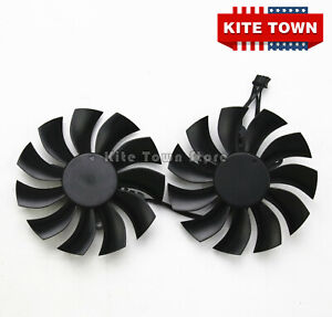 Graphics Video Card Cooling Fan For EVGA GTX950/960/970/980/980Ti PLA09215B12H