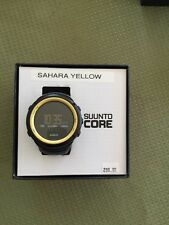 "Suunto ""CORE"" Sahara Yellow  SS016789000 New Old Stock"