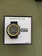 """Suunto """"CORE"""" Sahara Yellow  SS016789000 New Old Stock"""