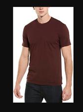 James Perse Men's NWOT!! Burgundy Premium Short Sleeve Crew Neck T-Shirt MLJ3311