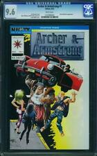 Archer & Armstrong # 1 US Valiant 1992 B.W. Smith Miller COVER NM + + 9.6 CGC