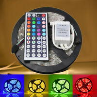 5M SMD RGB 5050 DC12V Waterproof LED Strip Light 300 With 44 Key Remote control