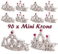 96 x Mini Prinzessin Krone Spielzeug Tauschgegenstände