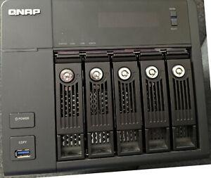 Qnap TS-559 Pro II 5TB NAS - Intel Processor - Network Hard Drive HDD