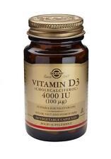 Solgar, Vitamin D3 Softgels (Cholecalciferol) 4000 IU, 60
